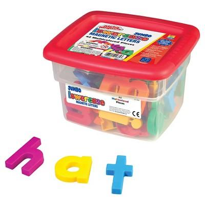 Educational Insights Alpha Magnets - Jumbo Multicolored Lowercase (42pc)
