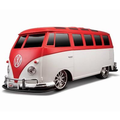 Maisto Volkswagen Van Samba Remote Control RC Vehicle - 1:10 Scale