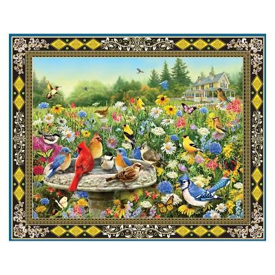 Springbok Birds And Butterflies Puzzle 1000pc