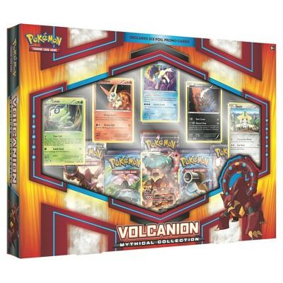 2017 Pokemon Trading Card Game Mythical Collection featuring Volcanion