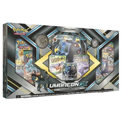 2017 Pokemon Trading Card GX Premium Box featuring Umbreon