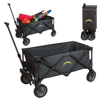 NFL Los Angeles Chargers Picnic Time Adventure Wagon - Gray