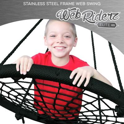 M&M Elite Stainless Steel Web Riderz Web Swing