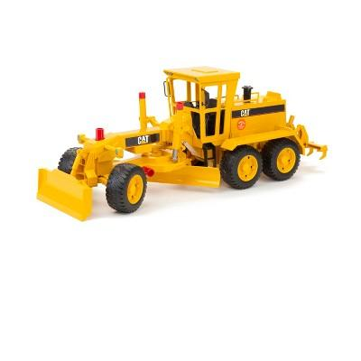 Bruder Toys Caterpillar Motor Grader - 1/16 Scale Realistic, Functional Toy Construction Vehicle