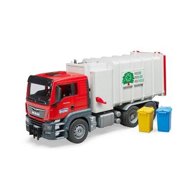 Bruder Toys MAN TGS Side Loading Garbage Truck - 1:16 Scale