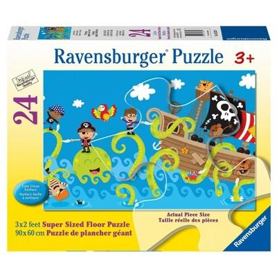 Ravensburger Ocean Friends Super Sized Floor Puzzle 24pc