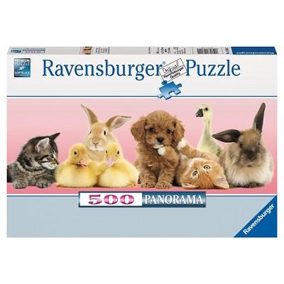 Ravensburger Animal Friends Panorama Puzzle 500pc