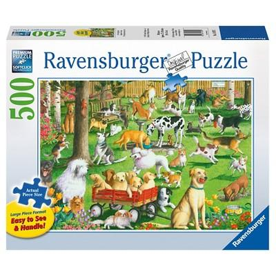 Ravensburger At The Dog Park Puzzle 500pc