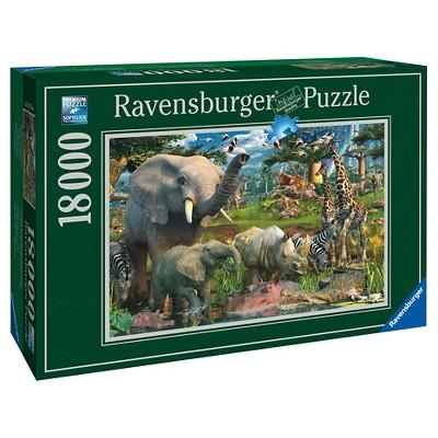 At the Waterhole 18000 Puzzle