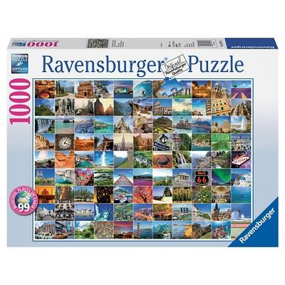 Ravensburger 99 Beautiful Places Puzzle 1000pc