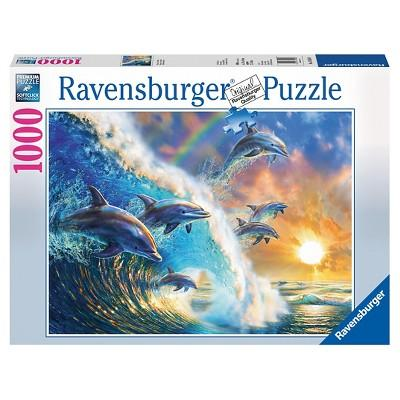 Ravensburger Dancing Dolphins Puzzle 1000pc