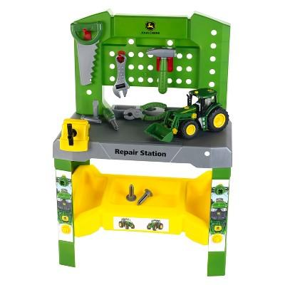 Theo Klein John Deere Repair Station Vehicle Playset