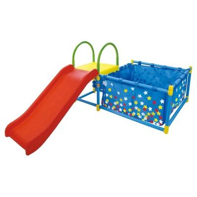 Eezy Peezy Ball Pit with Slide