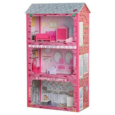 Plum Plaza Wooden Dolls House