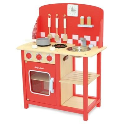 Indigo Jamm Kitchenette Diner Wood Playset