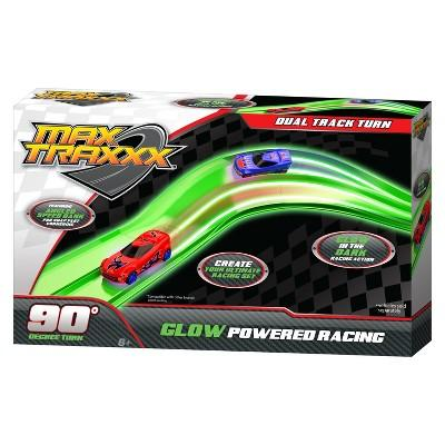 Max Traxxx Glow in the Dark Dual Lane Corner