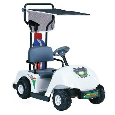 Kid Motorz Jr Pro Golf Cart White 6V