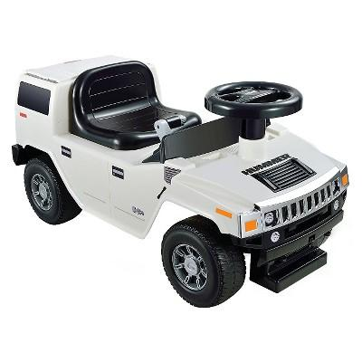 Kid Motorz Hummer H2 Foot to Floor White