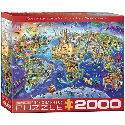 EuroGraphics Crazy World Puzzle 2000pc