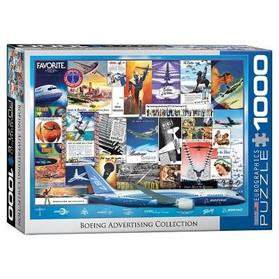 Eurographics Advertising: Boeing Collection Puzzle 1000pc