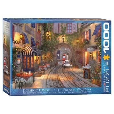 EuroGraphics Dominic Davison's The French Walkway Puzzle 1000pc