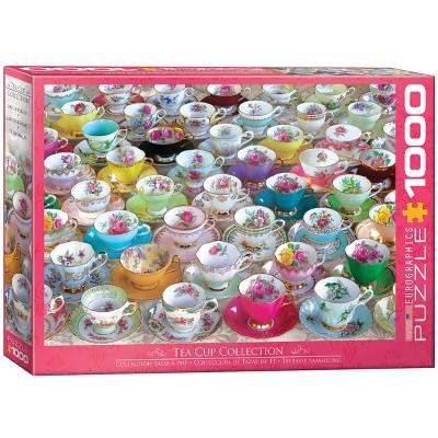EuroGraphics Tea Cup Collection Puzzle 1000pc