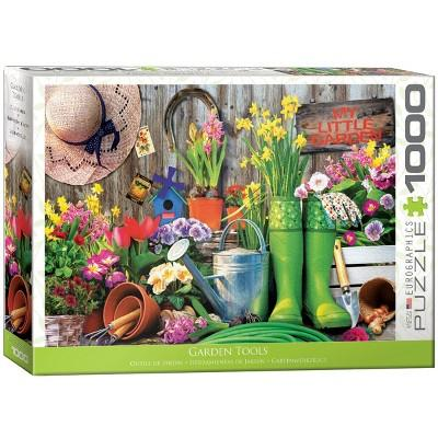 EuroGraphics Garden Tools Puzzle 1000pc