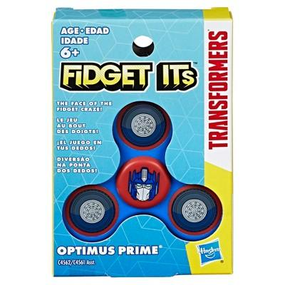 Fidget Its Transformers Optimus Prime Graphic Spinner