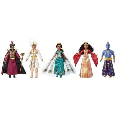 Disney Aladdin Agrabah Collection with 5 Fashion Dolls