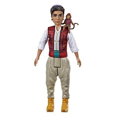 Disney Aladdin Fashion Doll with Abu, Inspired by Disney's Aladdin Live-Action Movie