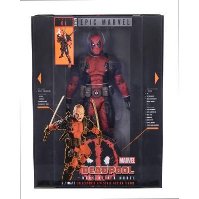 Marvel Ultimate Deadpool Collectors 1/4th Scale Action Figuree & Accessories