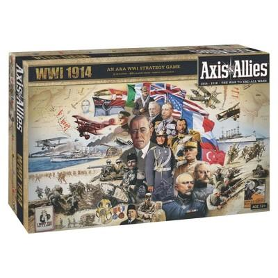 Axis & Allies WWI 1914 Strategy Board Game