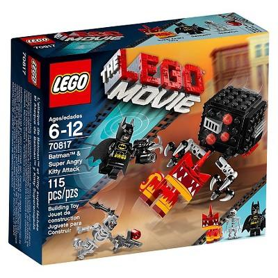 THE LEGO® MOVIE™ Batman™ & Super Angry Kitty Attack 70817