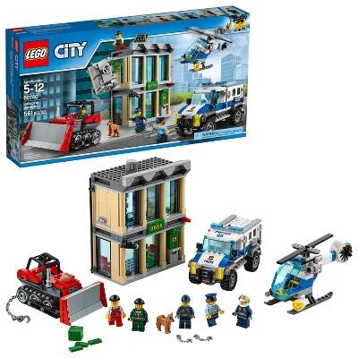 LEGO® City Police Bulldozer Break-in 60140