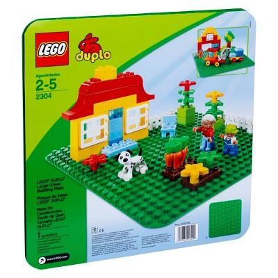 LEGO® DUPLO® My First Large Green Building Plate 2304
