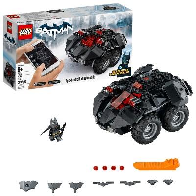 LEGO DC Comics Super Heroes App-Controlled Batmobile 76112