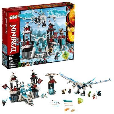 LEGO Ninjago Castle of the Forsaken Emperor 70678 Toy Castle Ninja Minifigures Building Set 1218pc