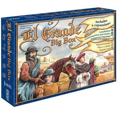 Zman Games El Grande Big Box Board Game