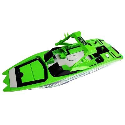 Pavati Remote Control RC Wakeboard Boat - 1:18 Scale - Green