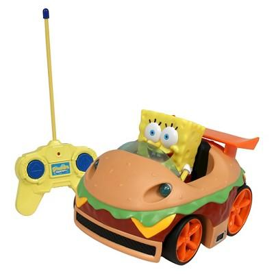 NKOK SpongeBob Squarepants R/C Krabby Patty with SpongeBob