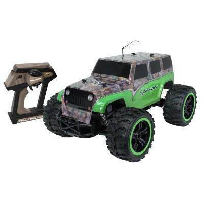 NKOK RealTree - RC Jeep Wrangler Unlimited - Green Camo - 1:10 Scale
