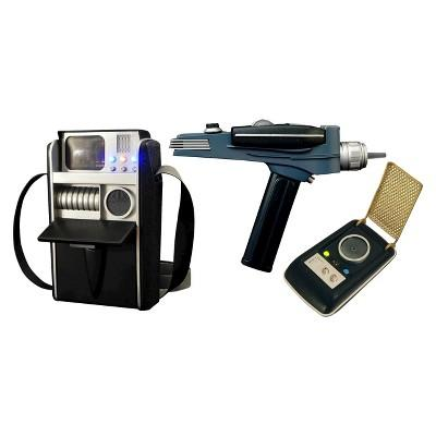 Star Trek - Landing Party Roleplay Phaser, Communicator, & Tricorder 3-Pack