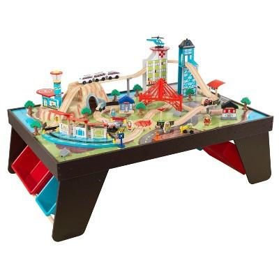 KidKraft Aero City Train Set and Table