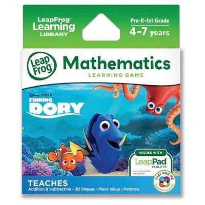 Disney Pixar Finding Dory Learning Game