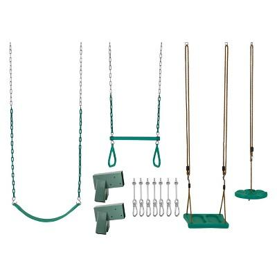 Swingan DIY Swing Set Kit - Green