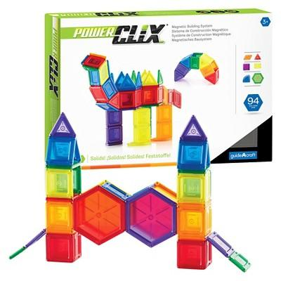 Guidecraft PowerClix Solids 94 Piece Set
