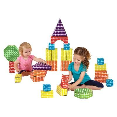 Edushape Corrugated Shapes - 45pc
