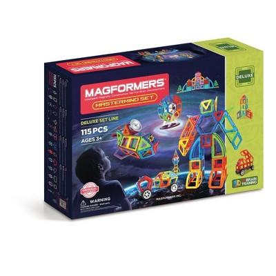 Magformers Mastermind Building Set - 115pc