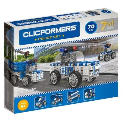 Clicformers Police Building Set - 70pc
