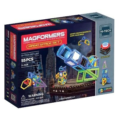 Magformers Magic Space 55 PC Set